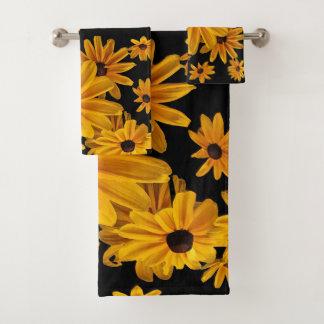 Ensemble floral de serviette de fleurs de Susan