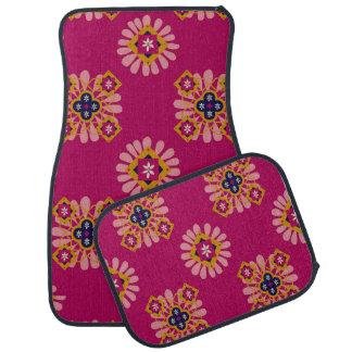 Ensemble fuchsia décoratif de Marocain de 4 tapis