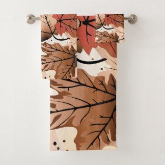 Ensemble impressionnant de serviette de plancher