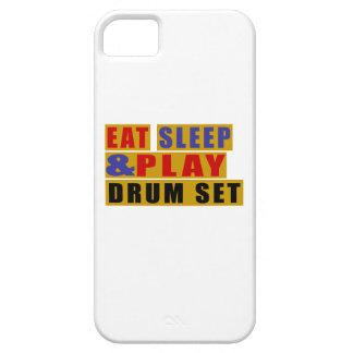 ENSEMBLE mangez de sommeil et de jeu TAMBOUR Coques iPhone 5 Case-Mate