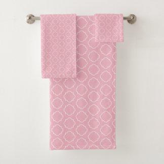 Ensemble marocain de serviette de salle de bains