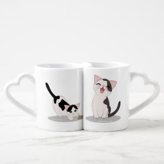 Ensemble mignon de tasse de chaton