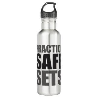 Ensembles de coffre-fort de pratique - gymnase de bouteille d'eau