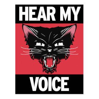 Entendez ma carte postale de voix