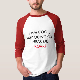 Entendez-moi HURLER ! Chemise de base de douille T-shirt