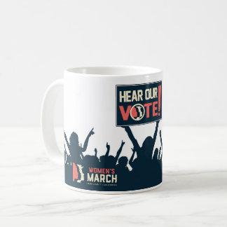 Entendez notre tasse de vote