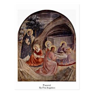 Enterrement par ATF Angelico Cartes Postales