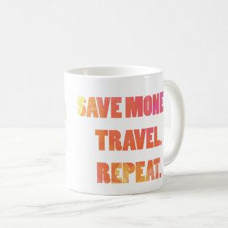 entourez le globe 1 mug