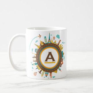 entourez le globe 2 mug