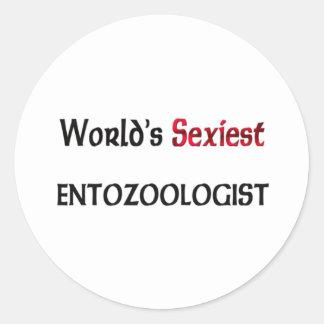 Entozoologist le plus sexy du monde autocollants