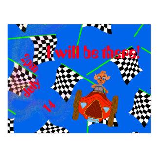 Entraînement heureux par Happy Juul Company Carte Postale