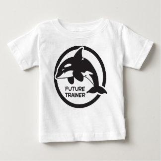 Entraîneur d'avenir d'épaulard t-shirt pour bébé