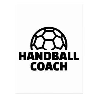 Entraîneur de handball carte postale