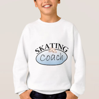 Entraîneur de patinage artistique sweatshirt