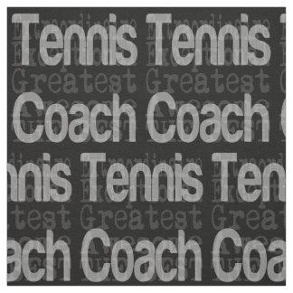 Entraîneur de tennis Extraordinaire Tissu