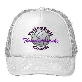 Entraîneur de volleyball casquettes