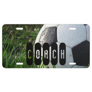 Entraîneur du football de ballon de football
