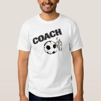Entraîneur du football t-shirt