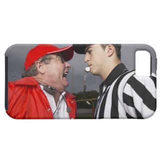 Entraîneur hurlant à l'arbitre coque Case-Mate iPhone 5