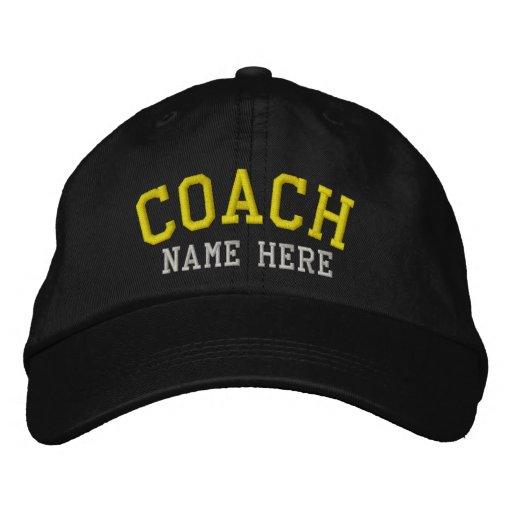 Entraîneur - personnalisable chapeaux brodés