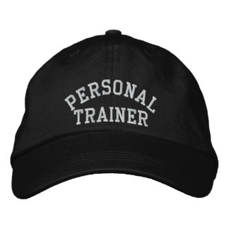 Entraîneur personnel casquette brodée