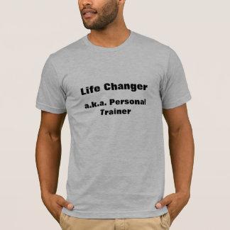 Entraîneur personnel de commutateur de la vie t-shirt