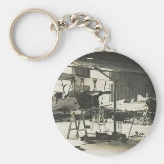 Entraîneurs de biplan en 1941 porte-clé rond