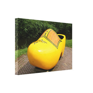 Entrave jaune géante, Hollande Toile