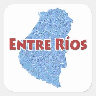 Entre Ríos Sticker Carré