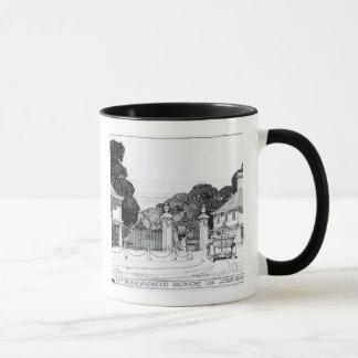 Entrée à Brooklandwood, Baltimore, Etats-Unis, de Mug