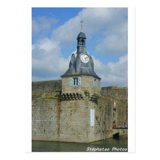 Entrée de la ville close de Concarneau BRETAGNE Carte Postale