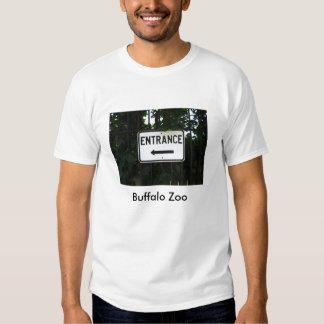 Entrée de zoo de Buffalo T-shirt