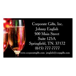 Entrepreneur élégant de Celebración (célébration) Carte De Visite Standard