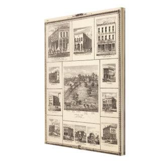 Entreprises en ville de Charles, Davenport Toiles