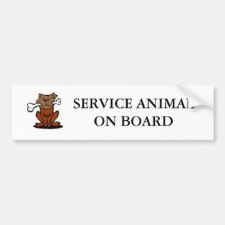 Entretenez l'animal autocollant de voiture