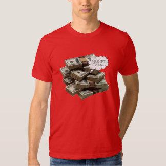 Entretien d'argent t-shirts