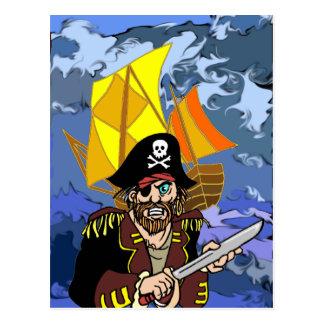 Entretien d'Arrrrr comme un jour de pirate Cartes Postales