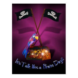 Entretien jour heureux comme pirate