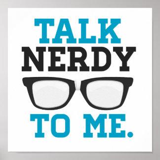Entretien ringard à moi lunettes drôles affiche