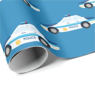 Enveloppe carrelée de partie de motif de voiture papier cadeau