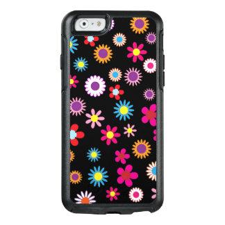 Enveloppe colorée douce de fleur et de téléphone coque OtterBox iPhone 6/6s