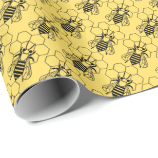 Enveloppe de cadeau - abeille sur le nid papiers cadeaux