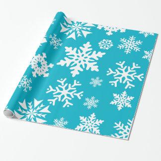 Enveloppe de cadeau bleue turquoise de Noël de Papier Cadeau Noël
