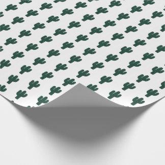 Enveloppe de cadeau de cactus papier cadeau