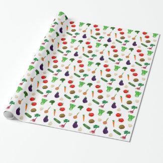 Enveloppe de cadeau de légumes de légume papier cadeau