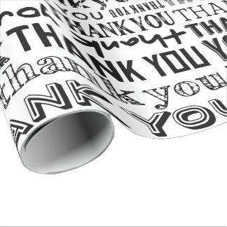 Enveloppe de cadeau de spécialité de typographie papier cadeau