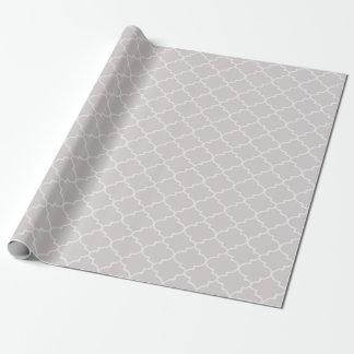Enveloppe de cadeau marocaine argentée de motif de papier cadeau