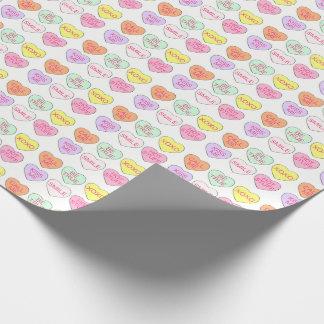 Enveloppe en pastel de Saint-Valentin de coeur de Papiers Cadeaux