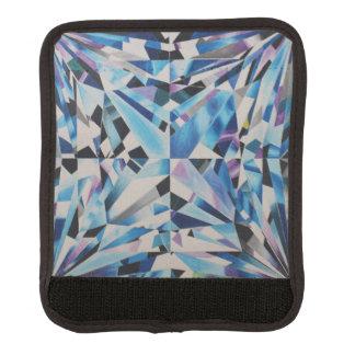 Enveloppe en verre de poignée de bagage de diamant protège poignée pour bagage