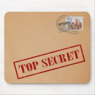 Enveloppe extrêmement secrète Mousepad Tapis De Souris